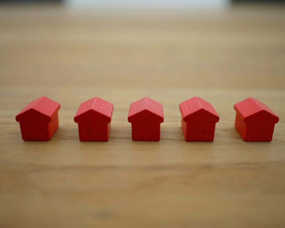 Splitting entitled property assets