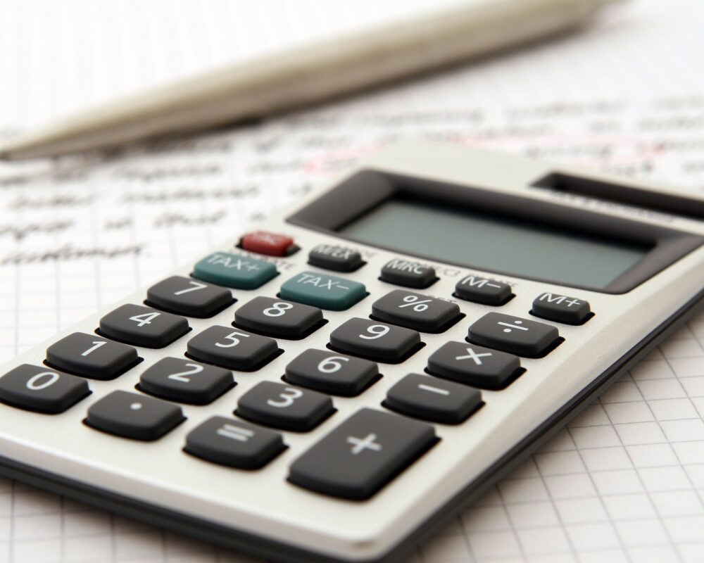 Calculator for splitting assets in the United Kingdom